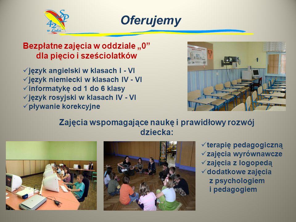 sale lekcyjne wyposażone w liczne pomoce naukowe trzy pracownie komputerowe biblioteczne centrum multimedialne dwie sale gimnastyczne sala do gimnasty