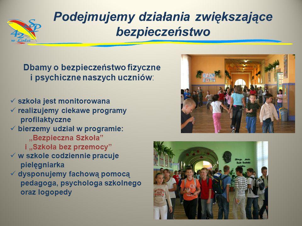 Realizujemy projekt współfinansowany przez Unię Europejską Pierwsze uczniowskie doświadczenia drogą do wiedzy Adresatami podjętych przez nas działań s