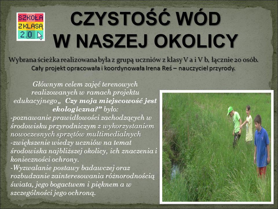 Zakończenie projektu finalizuje happening ekologiczny, który rozpoczął obchody Szkolnego Festiwalu SZKOŁY Z KLASĄ 2.0 Uczniowie nakręcili filmik z happeningu, który opublikowany jest na stronie szkoły: http://sp16wodzislaw.pl/filmy-video- prezentacje.html