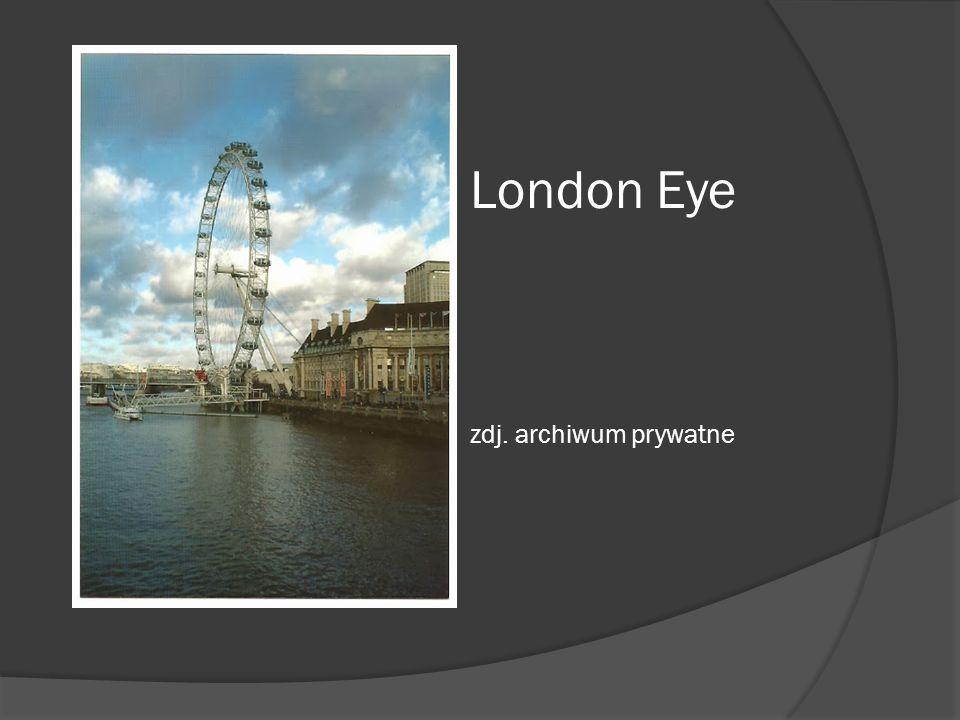 London Eye zdj. archiwum prywatne