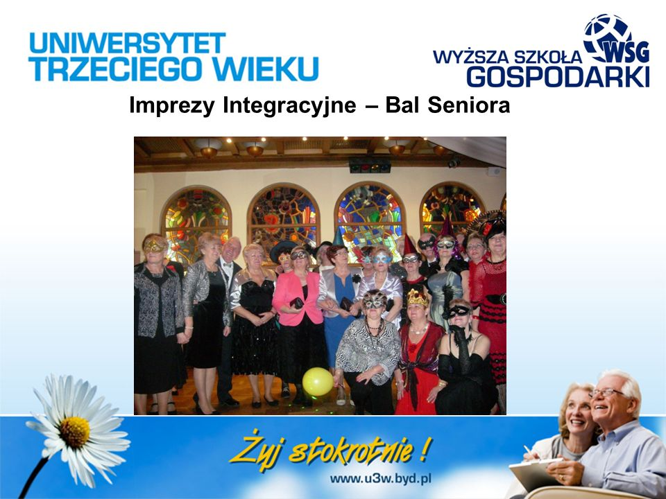 Imprezy Integracyjne – Bal Seniora