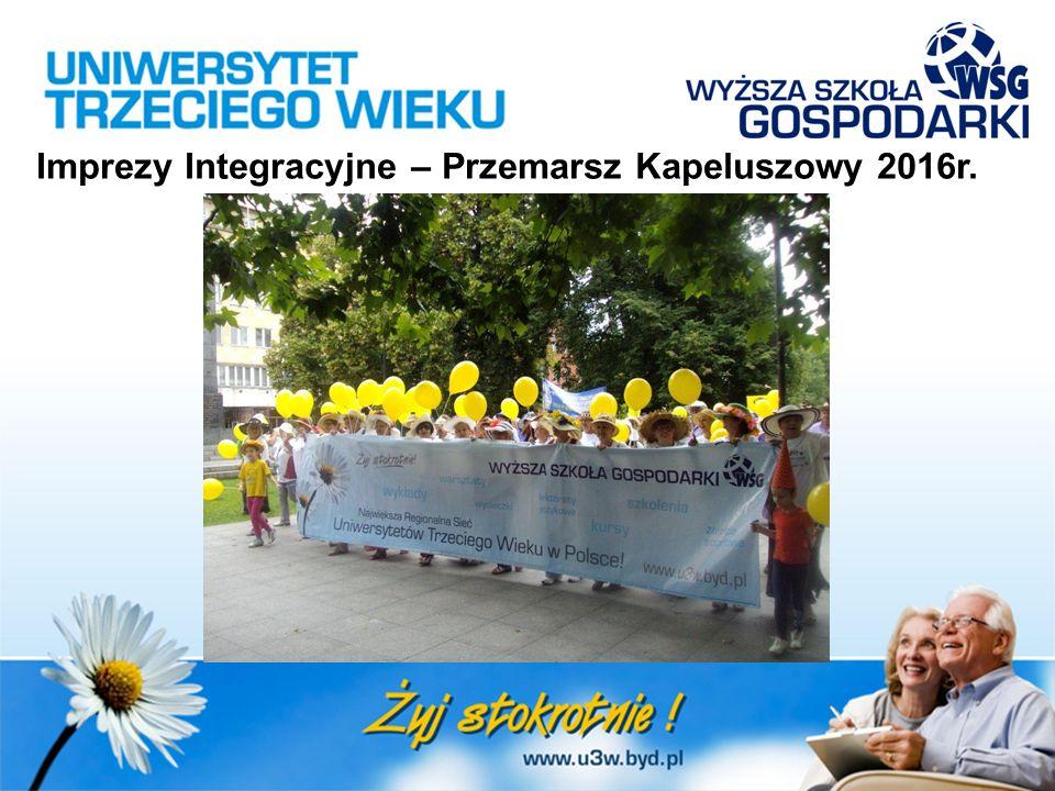 Imprezy Integracyjne – Przemarsz Kapeluszowy 2016r.