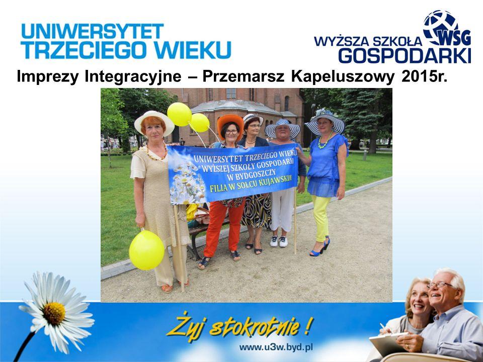 Imprezy Integracyjne – Przemarsz Kapeluszowy 2015r.