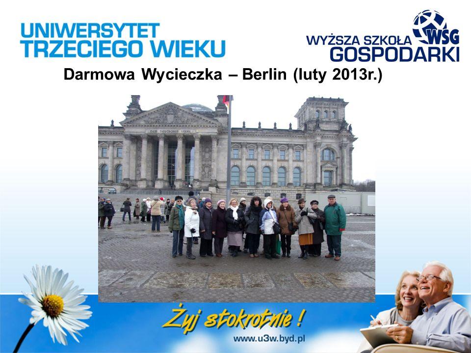 Darmowa Wycieczka – Berlin (luty 2013r.)