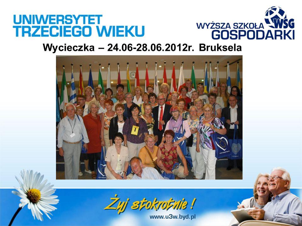 Wycieczka – 24.06-28.06.2012r. Bruksela