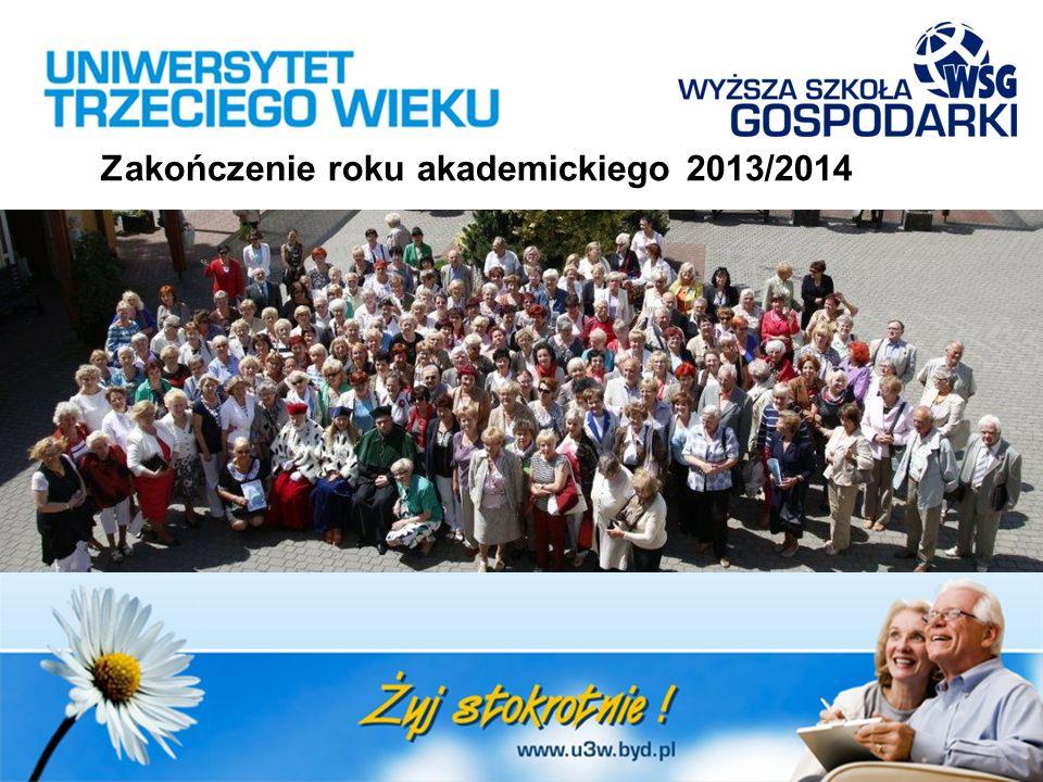 Zakończenie roku akademickiego 2013/2014