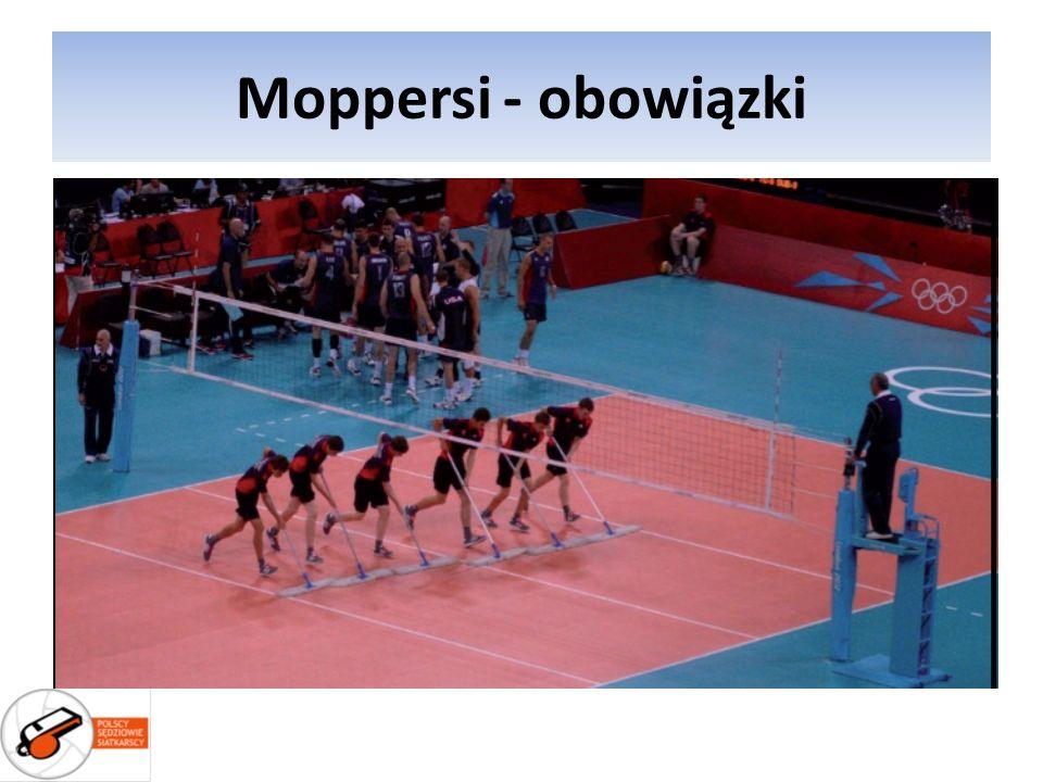 Moppersi - obowiązki