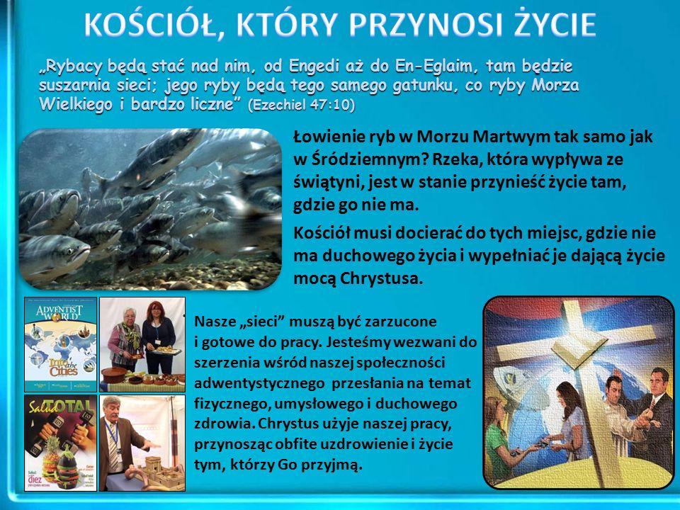 """""""Rybacy będą stać nad nim, od Engedi aż do En-Eglaim, tam będzie suszarnia sieci; jego ryby będą tego samego gatunku, co ryby Morza Wielkiego i bardzo liczne (Ezechiel 47:10) Łowienie ryb w Morzu Martwym tak samo jak w Śródziemnym."""