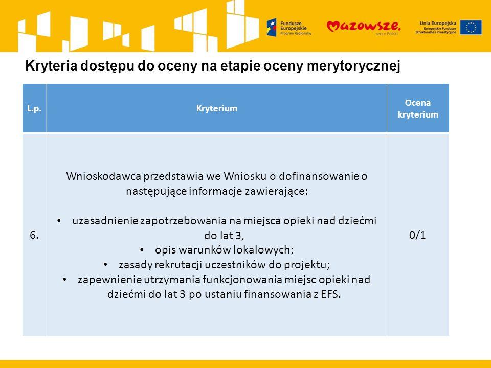 L.p.Kryterium Ocena kryterium 6.