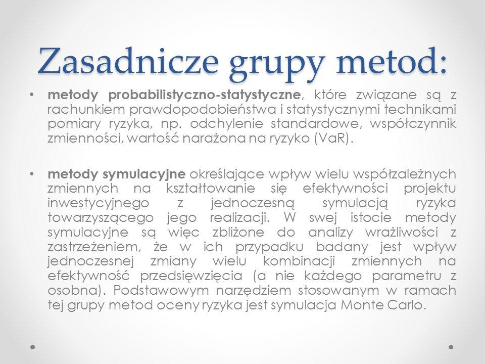 Przykład 1 Przykład 1 Realizacja przedsięwzięcia inwestycyjnego wymaga poniesienia nakładu inwestycyjnego w wysokości 10 mln PLN.