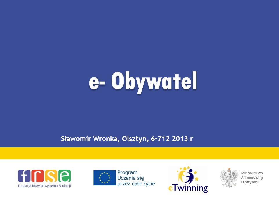 Sławomir Wronka, Olsztyn, 6-712 2013 r