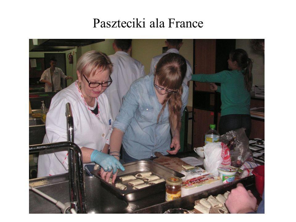 Paszteciki ala France