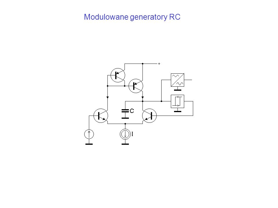 Modulowane generatory RC