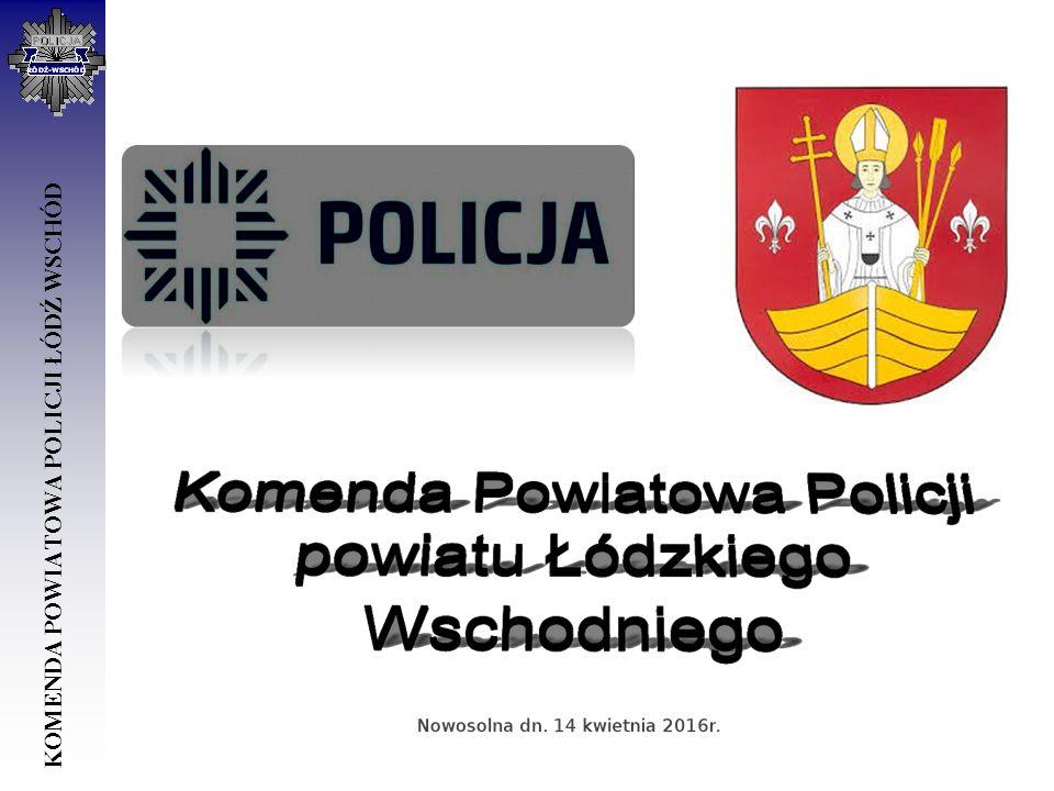POSTERUNEK POLICJI W ANDRESPOLU SWOIM DZIAŁANIEM OBEJMUJE DWIE GMINY GMINĘ ANDRESPOL GMINĘ NOWOSOLNA