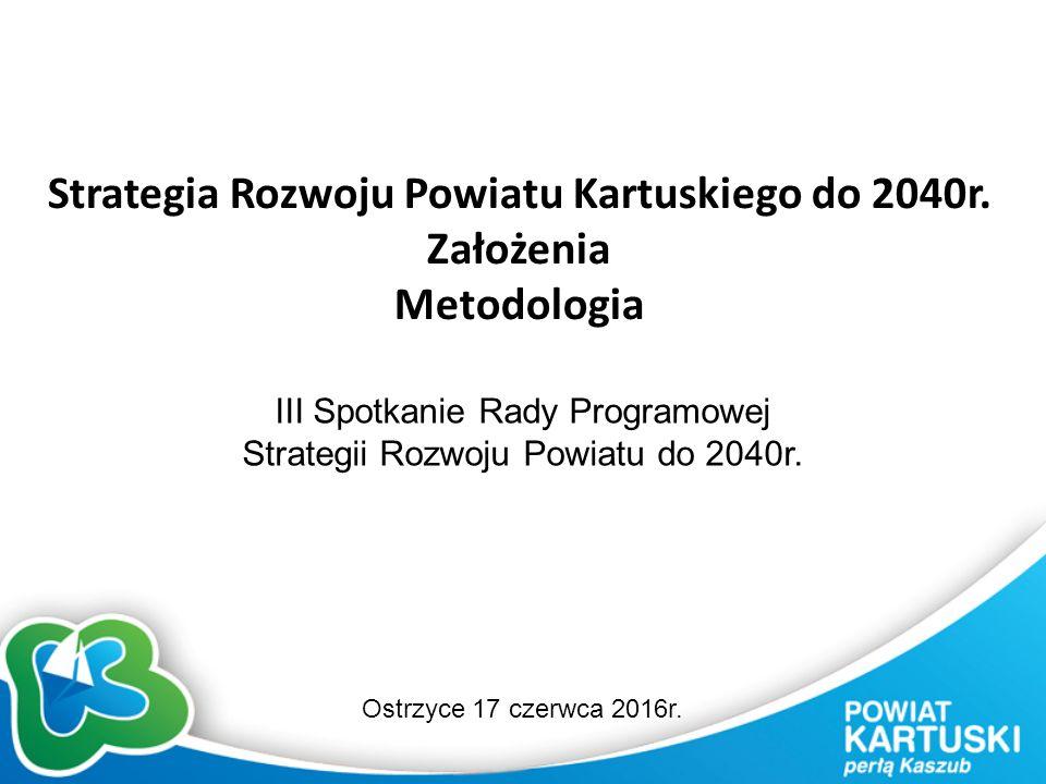 Strategia Rozwoju Powiatu Kartuskiego do 2040r.