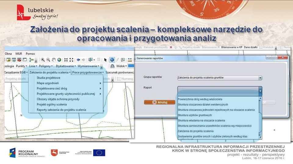 Założenia do projektu scalenia – kompleksowe narzędzie do opracowania i przygotowania analiz