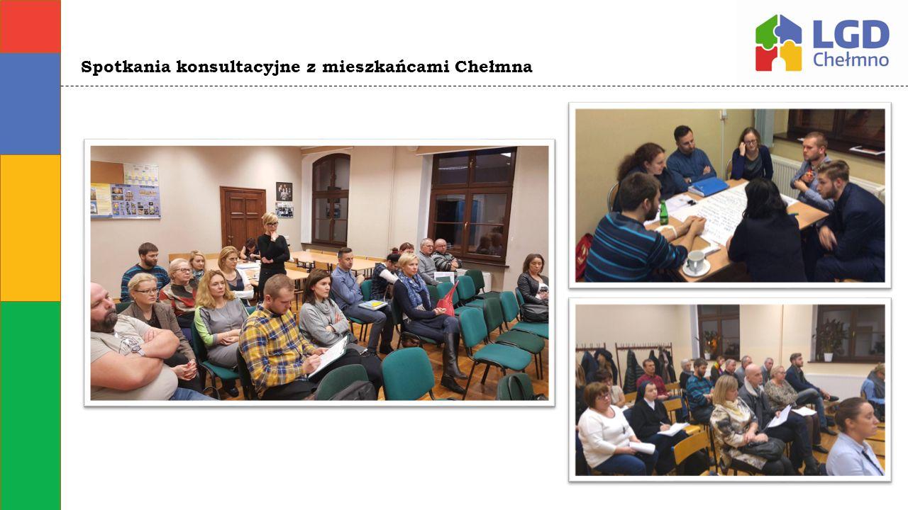 Spotkania konsultacyjne z mieszkańcami Chełmna