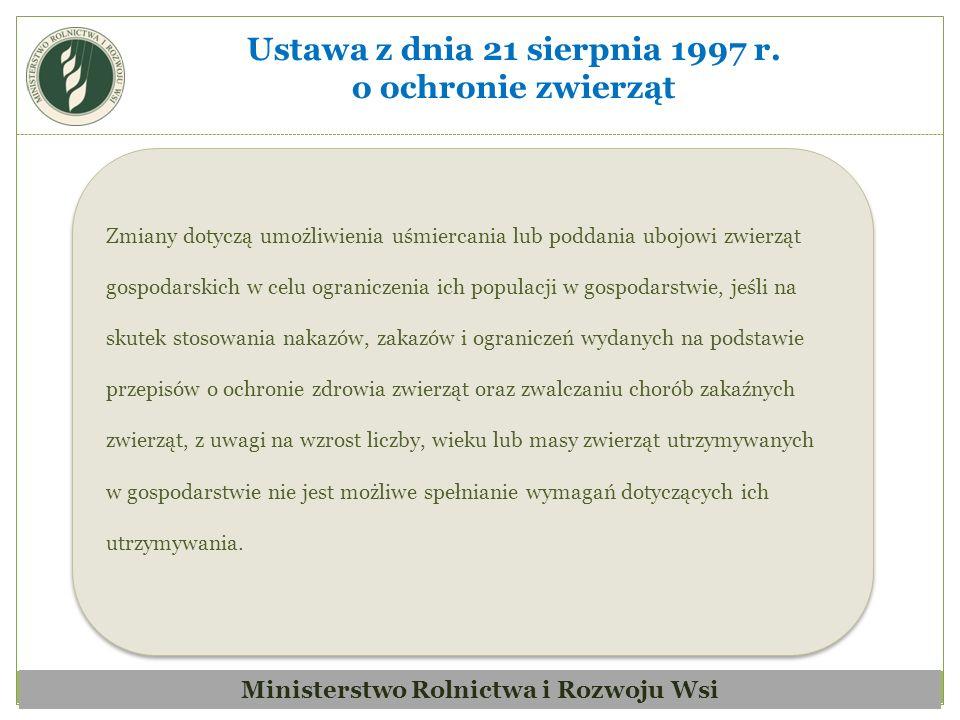 Zmiana związana jest z koniecznością zapewnienia spójności tej ustawy z przepisami ustawy z dnia 2 kwietnia 2004 r.
