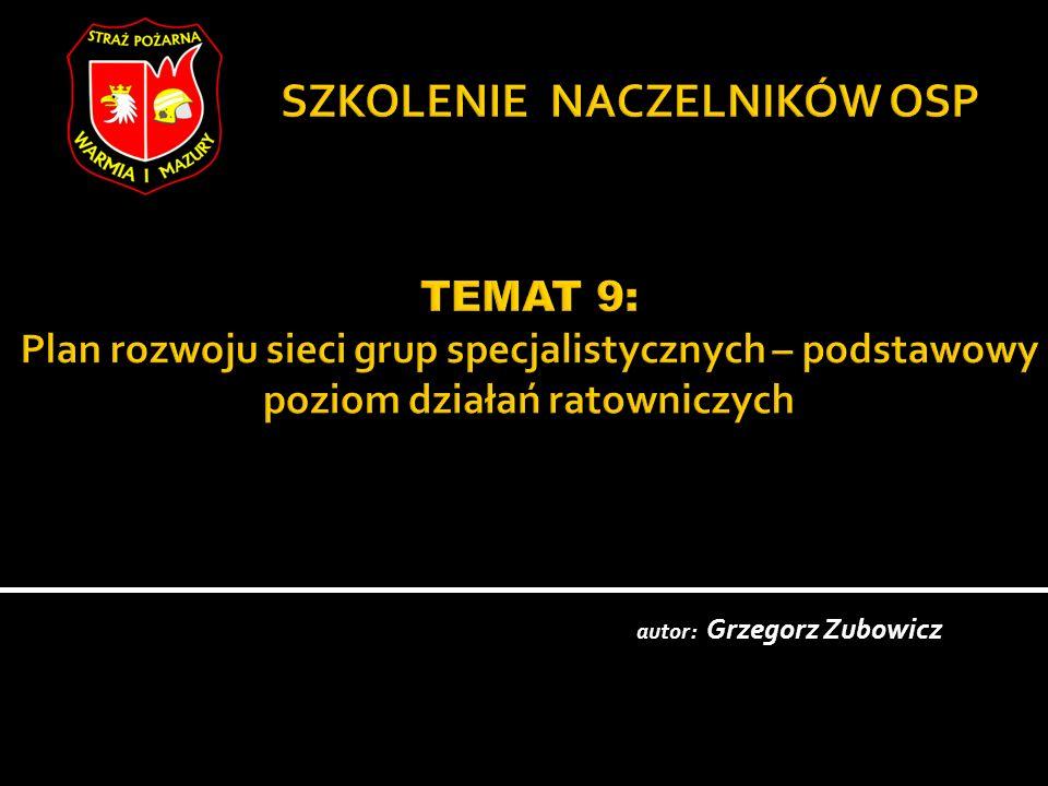 autor: Grzegorz Zubowicz