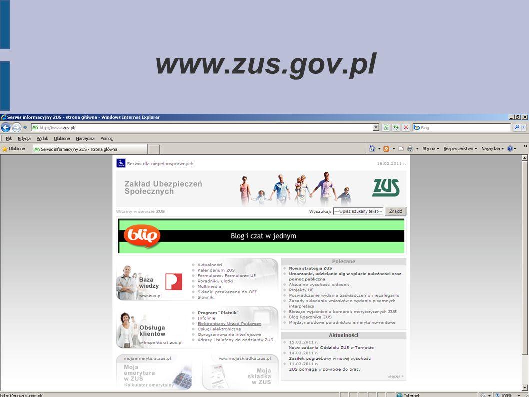 www.zus.gov.pl