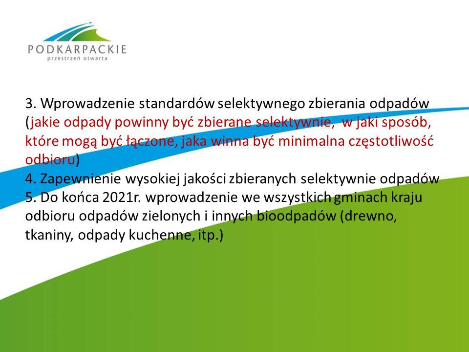 Zmieszane odpady komunalne przetwarzane są w dwóch Regionalnych Instalacjach do Przetwarzania Odpadów Komunalnych (RIPOK) takich jak - Instalacja mechaniczno-biologicznego przetwarzania odpadów w Młynach (PUK EMPOL Sp.