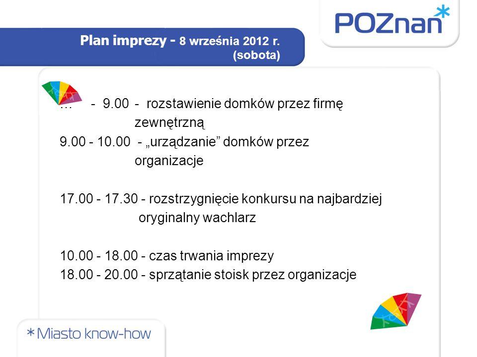Tydzień Organizacji Pozarządowych Kalendarz imprez: EKOLOGIA - poniedziałek 10 września ZDROWIE, AKTYWNOŚĆ FIZYCZNA I EDUKACJA - wtorek 11 września KULTURA SZTUKA - środa 12 września AKTYWNOŚĆ OBYWATELSKA WOLONTARIAT EKONOMIA SPOŁECZNA - czwartek 13 września NIEPEŁNOSPRAWNI, WSPARCIE SPOŁECZNE - piątek 14 września