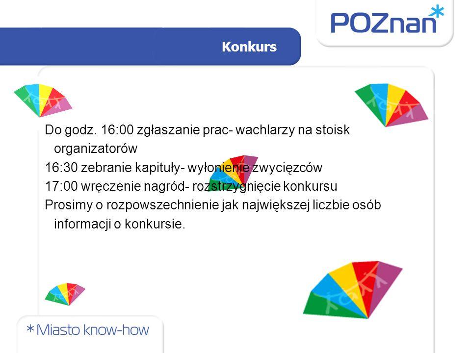 """Mini-gra miejska: """"Szlakiem poznańskich NGO Osoby do kontaktu: Ewa Zarzycka (Wielkopolska Rada Koordynacyjna ZOP mail: wolontariat@wrk.org.pl )wolontariat@wrk.org.pl Aleksandra Skrzypek (SWP Flandria tel: 664 997 518 mail: a.skrzypek@flandria.pl )a.skrzypek@flandria.pl"""