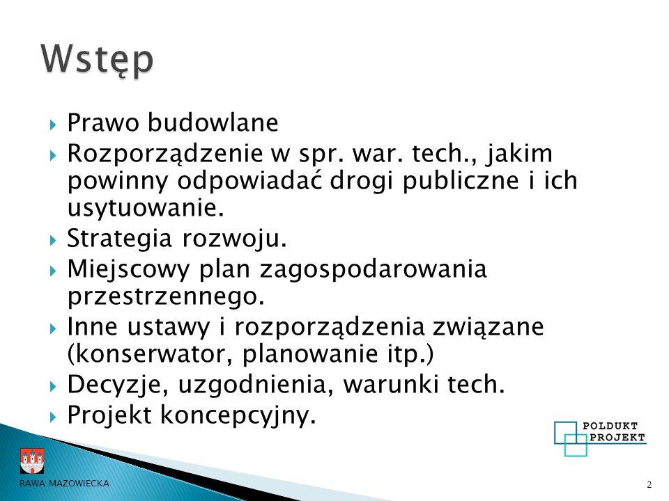  Prawo budowlane  Rozporządzenie w spr.war.