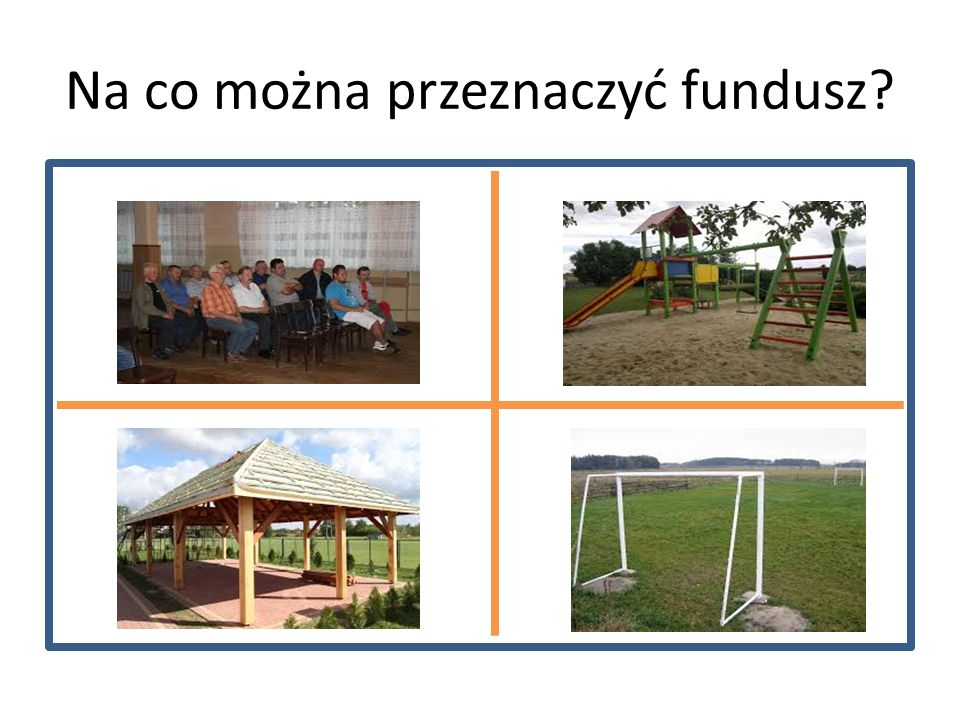 Na co można przeznaczyć fundusz?