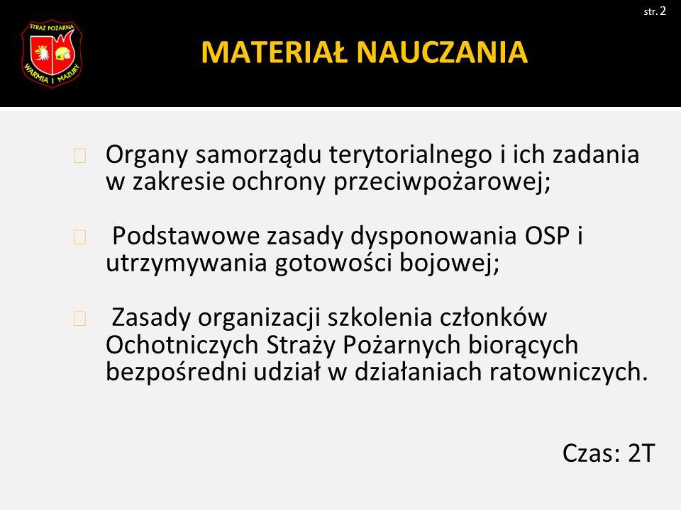 Struktura administracji w Polsce str.