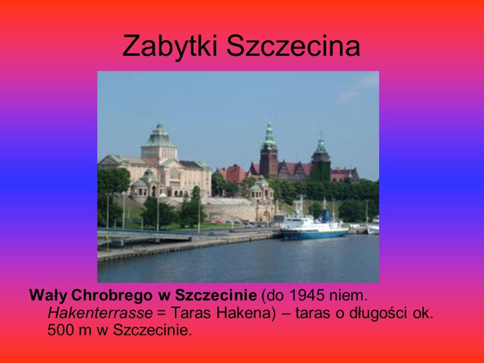 Zabytki Szczecina Zamek Książąt Pomorskich – zamek usytuowany na Wzgórzu Zamkowym w Szczecinie, w sąsiedztwie Odry.