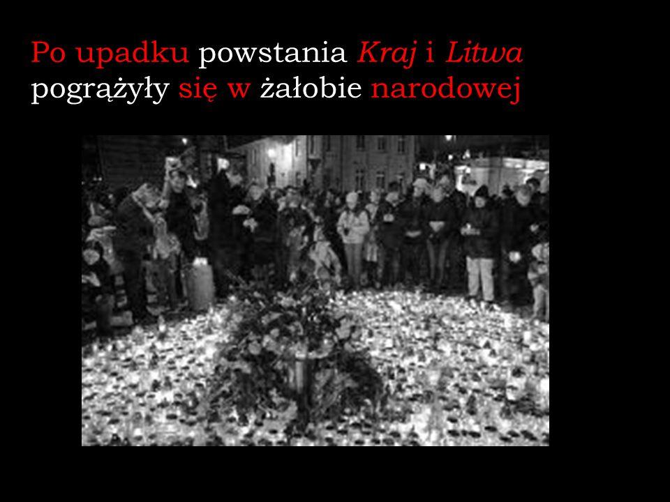 W roku 1867 zniesiono autonomię Królestwa Polskiego