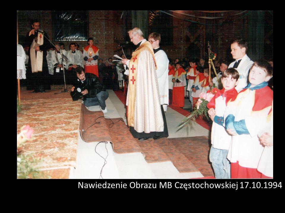 Nawiedzenie Obrazu MB Częstochowskiej 17.10.1994