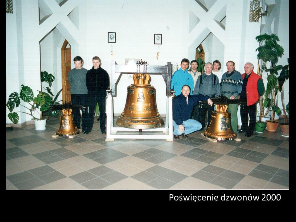 Poświęcenie dzwonów 2000