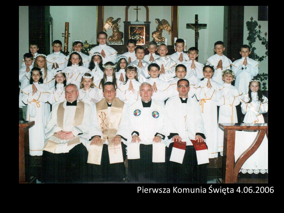 Pierwsza Komunia Święta 4.06.2006
