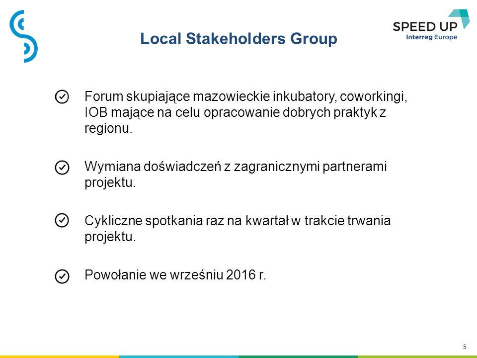 6 Korzyści z udziału w projekcie WIEDZA - wymiana doświadczeń z przedstawicielami inkubatorów z różnych regionów Europy.