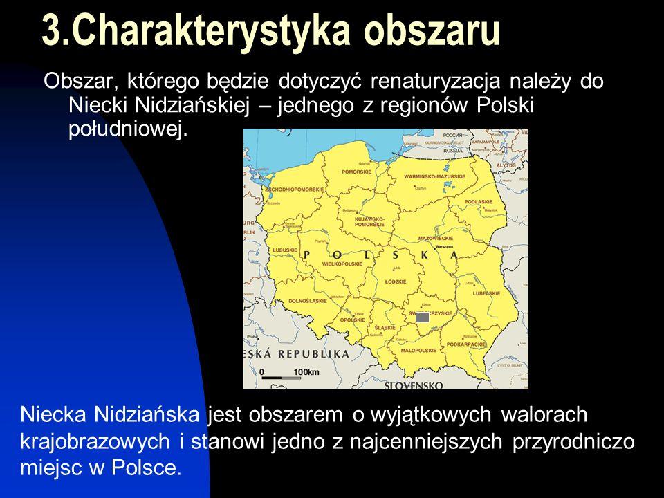 Chmielnik Jędrzejów Garb Pińczowski 291 m n.p.m Obszar Delty Śródlądowej Projektowany zbiornik