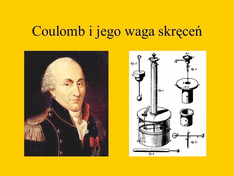 Coulomb i jego waga skręceń
