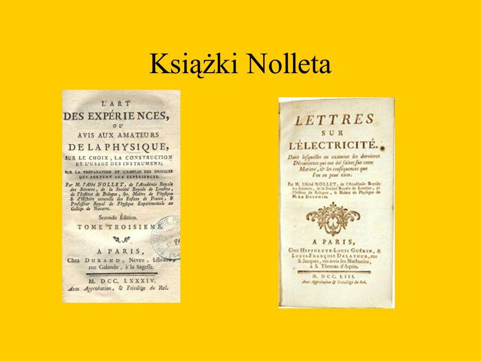 Eksperymenty pokazowe Nolleta