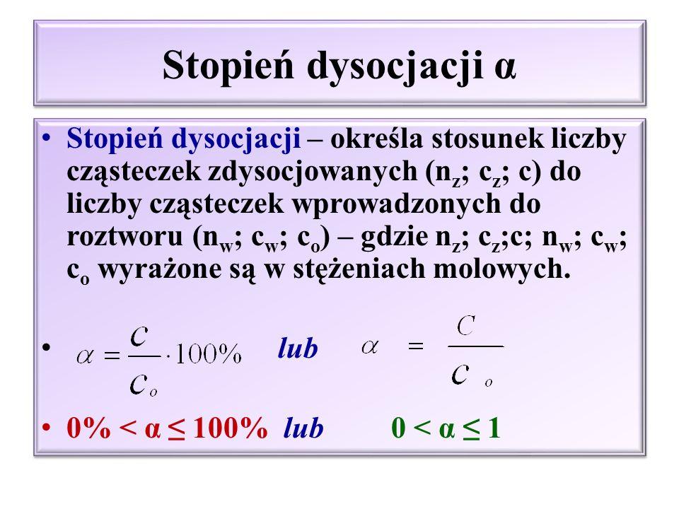 Kwasy i zasady wg elektronowej teorii Lewisa Kwas – atom, cząsteczka lub jon, które mogą przyjąć parę elektronową i utworzyć wiązanie koordynacyjne Al(OH) 3 + OH - ↔ [Al(OH) 4 ] - kwas + zasada AlCl 3 + Cl- ↔ [AlCl 4 ] - kwas + zasada SO 3 + H 2 O ↔ H 2 SO 4 kwas + zasada Zasada – atom, cząsteczka lub jon dysponujący walną parą elektronową H + + H 2 O ↔ H 3 O + kwas + zasada NH 3 + H 2 O ↔ NH 4 + + OH- zasada + kwas Kwas – atom, cząsteczka lub jon, które mogą przyjąć parę elektronową i utworzyć wiązanie koordynacyjne Al(OH) 3 + OH - ↔ [Al(OH) 4 ] - kwas + zasada AlCl 3 + Cl- ↔ [AlCl 4 ] - kwas + zasada SO 3 + H 2 O ↔ H 2 SO 4 kwas + zasada Zasada – atom, cząsteczka lub jon dysponujący walną parą elektronową H + + H 2 O ↔ H 3 O + kwas + zasada NH 3 + H 2 O ↔ NH 4 + + OH- zasada + kwas