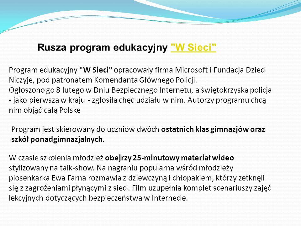 Rusza program edukacyjny
