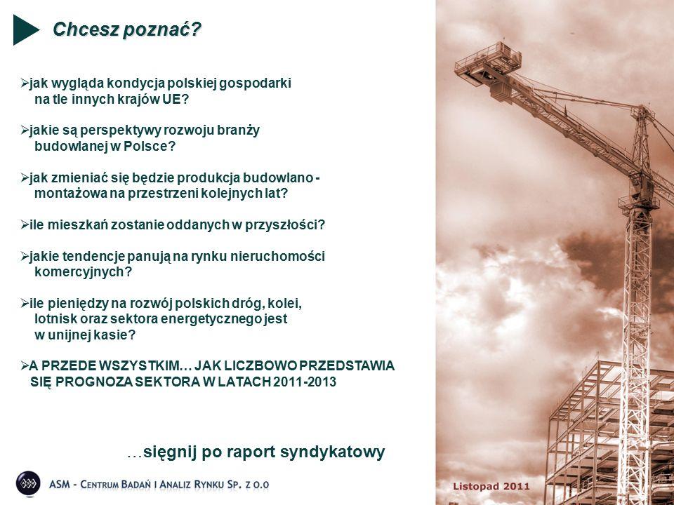 Chcesz poznać? …sięgnij po raport syndykatowy  jak wygląda kondycja polskiej gospodarki na tle innych krajów UE?  jakie są perspektywy rozwoju branż