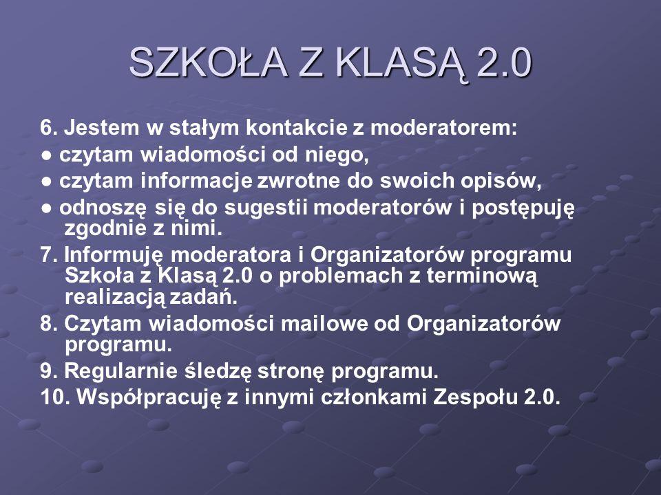 SZKOŁA Z KLASĄ 2.0 6.