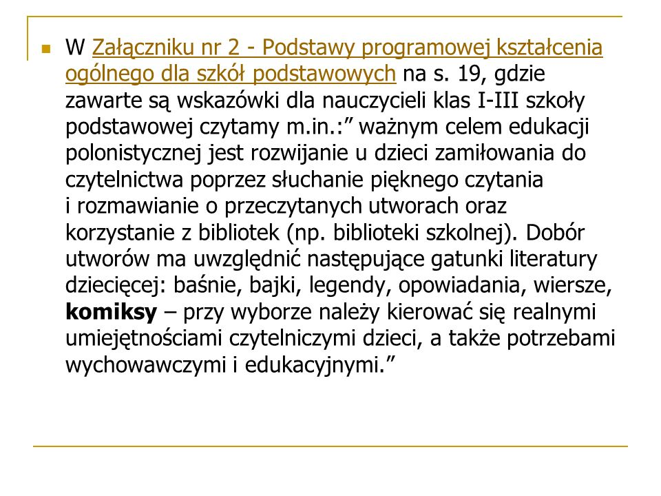 W Załączniku nr 2 - Podstawy programowej kształcenia ogólnego dla szkół podstawowych na s.