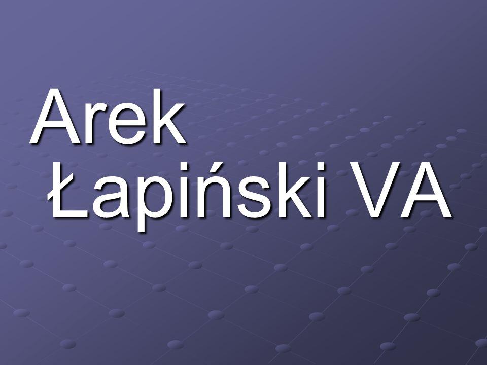 Arek Łapiński VA