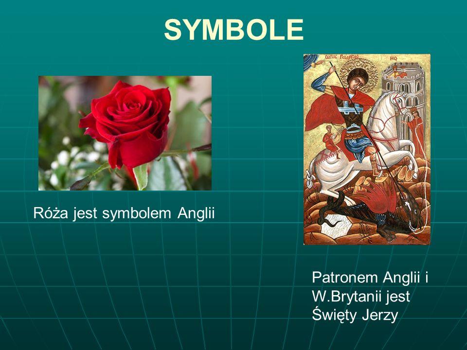 SPRAWDZ SWOJĄ WIEDZĘ O ANGLII : 1.1. Kto jest patronem Anglii .