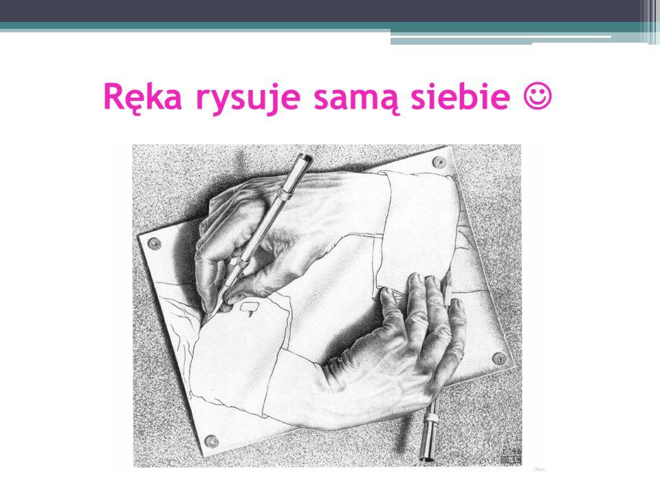Ręka rysuje samą siebie