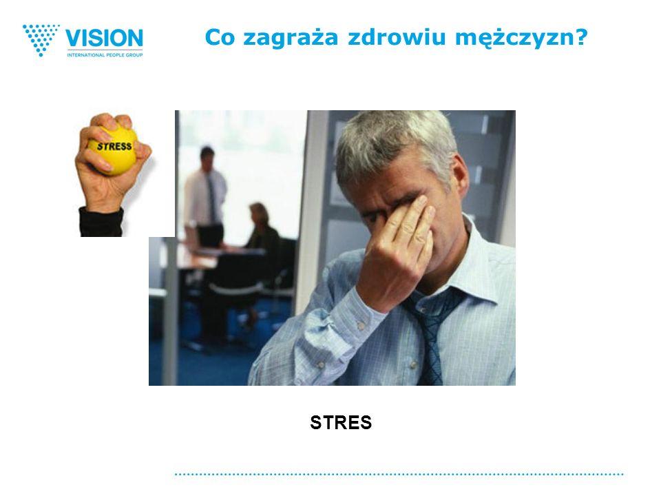 Co zagraża zdrowiu mężczyzn STRES
