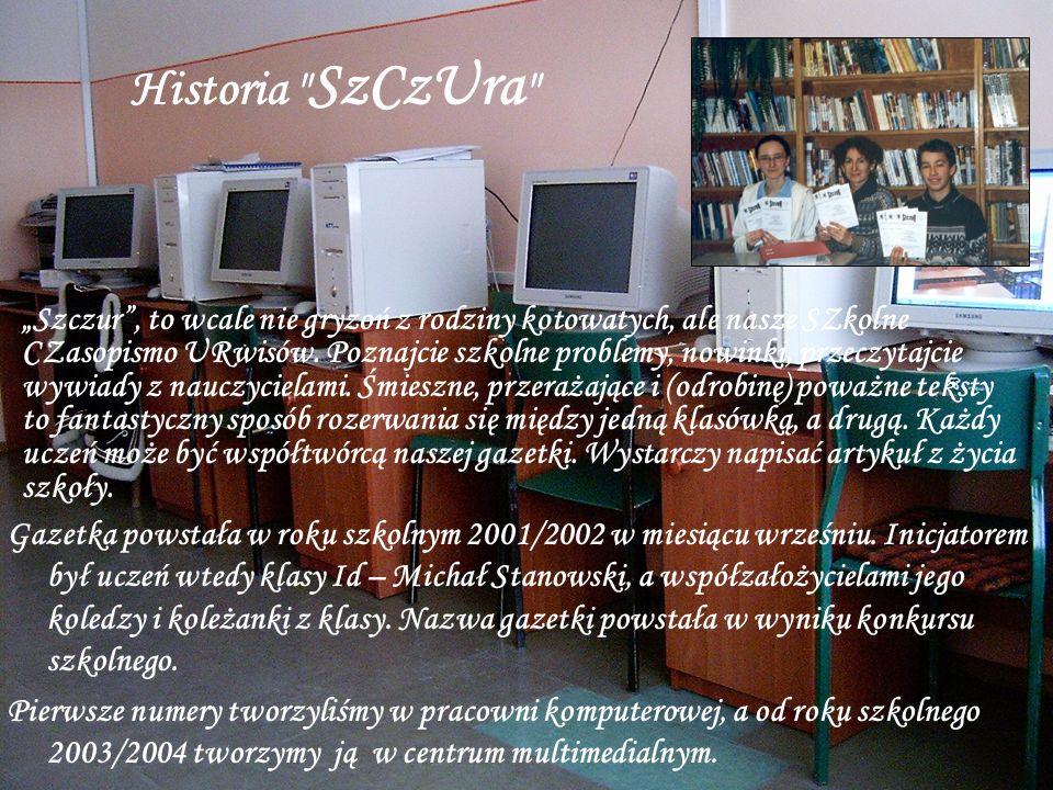 Gazetka powstała w roku szkolnym 2001/2002 w miesiącu wrześniu.