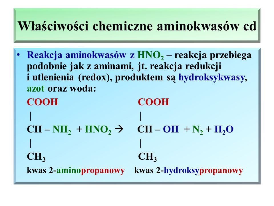 Peptydy – wiązania peptydowe (amidowe) cd. Aminokwasy mogą ulegać wewnątrzcząsteczkowej kondensacji, produktem jest laktam O || C H O / \ \ // H 2 C N